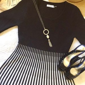 NWT Calvin Klein ombré Sweater Dress